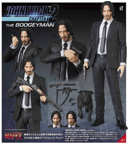 MAFEX John Wick Part 2 (Reproduction)