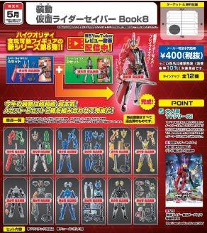 [PRE-ORDER] BANDAI SO-DO KAMEN RIDER SABER VOL.8 W/O GUM