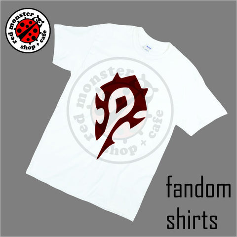 Fandom Shirts - Warcraft Horde Gaming Tshirt