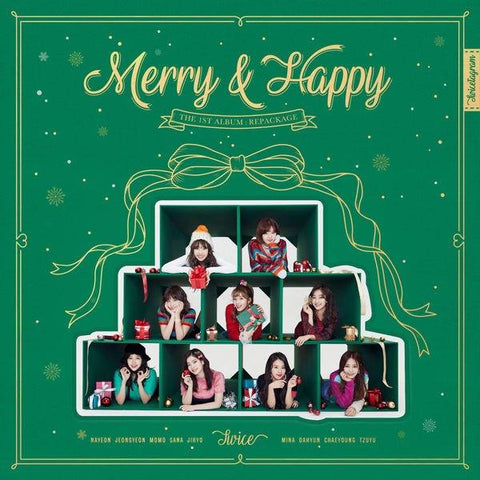 [PRE-ORDER] TWICE 2nd Special Album - MERRY & HAPPY (Random ver.)