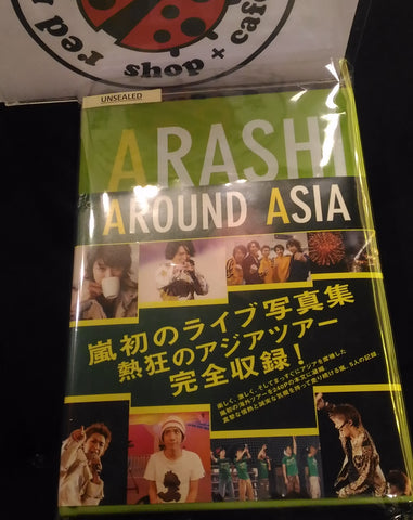 [Unsealed] Arashi - Around Asia Photobook