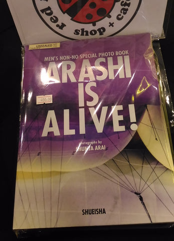 [Unsealed] Arashi - Arashi is Alive Photobook