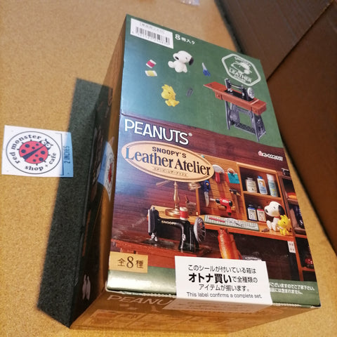 [ONHAND] Re-ment Peanuts Snoopy's Leather Atelier (Set of 8)