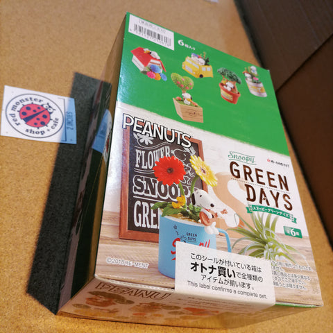 [ONHAND] Re-ment Peanuts Snoopy Green Days (Set of 6)