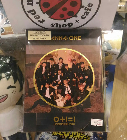 [Unsealed] Wanna One Album - I Promise You (Night ver.)