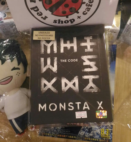 [Unsealed] Monsta X Album - The Code (Protocol Terminal Ver.)