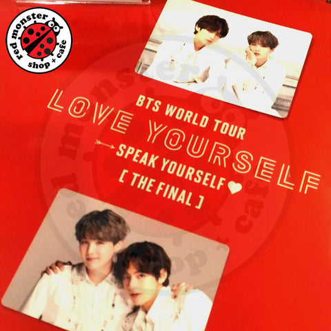 BTS Love Yourself  World Tour The Final - Mini Photo Card