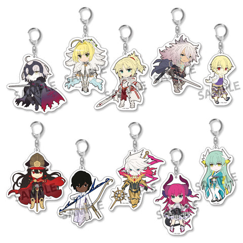 Pikuriru! - Fate/Grand Order - Trading Acrylic Keychain vol.3 (BOX OF 10)