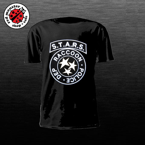 STARS Resident Evil Gaming Tshirt Game Shirt