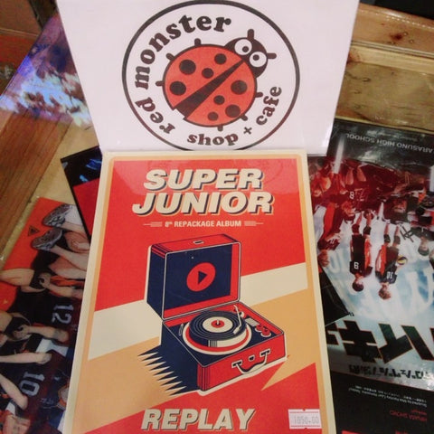 SUPER JUNIOR - Replay Album