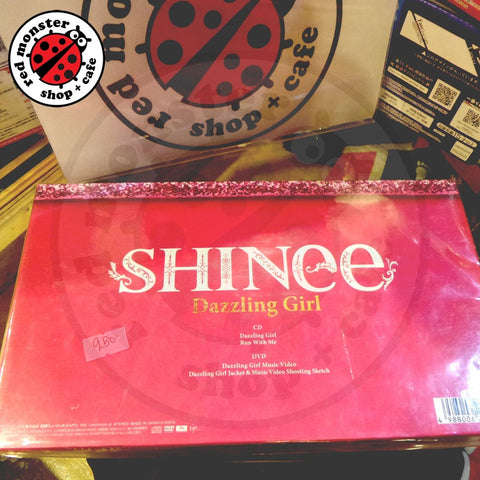 [Unsealed] SHINEE Dazzling Girl Japan DVD