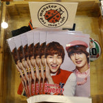 SHINEE Wanna be Sweet (Onew and Minho) Etude House Official Clear File