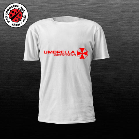 Umbrella Logo/Corp Resident Evil Gaming Tshirt Game Shirt