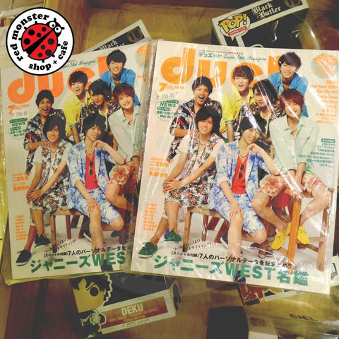 JPOP Duet Magazine Johnnys WEST 2014