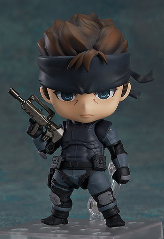 [ONHAND] Nendoroid 447 Solid Snake - Metal Gear Solid