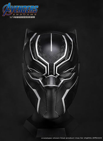 20051 1:1 Black Panther Collectible Helmet Wearable