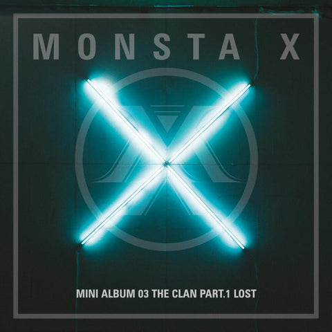 [PRE-ORDER] MONSTA X 3rd Mini Album - THE CLAN PT. 1: LOST (Random ver.)