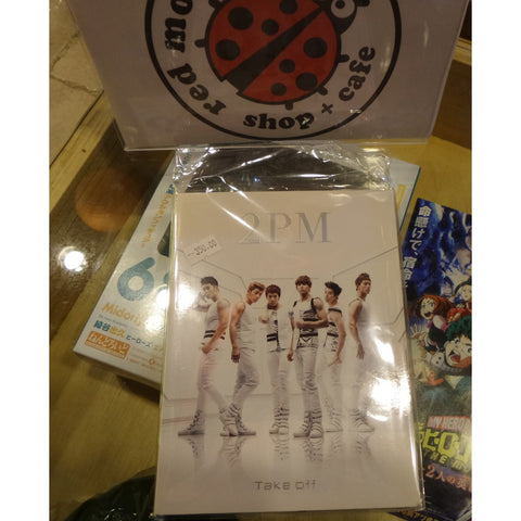 [Unsealed] 2PM Japan Album - Take Off (Includes CD+DVD)