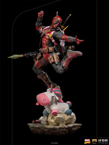 Iron Studios Deadpool Deluxe 1/10 BDS Art Scale - Marvel Comics