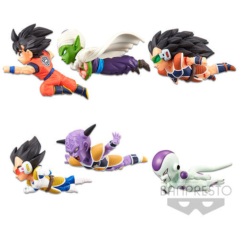 [INCOMING STOCK] BANPRESTO WORLD COLLECTABLE FIGURE THE HISTORICAL CHARACTERS VOL. 1 (SET OF 6) (re-issue) - DRAGON BALL