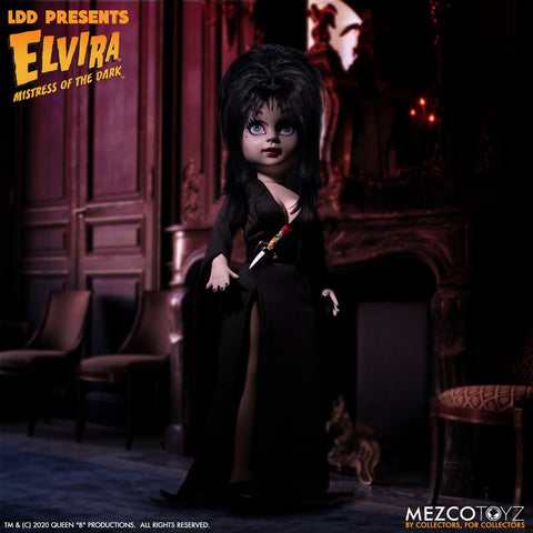 Mezco LDD Presents Elvira Mistress of the Dark