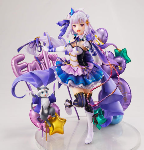 Estream 1/7 Scale Emilia (Idol Version) - Re:ZERO Starting Life in Another World