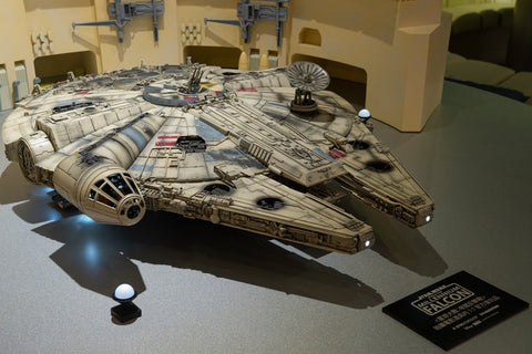 STK Workshop The Complete Millennium Falcon (Built Form) - Star Wars