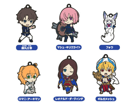 Nendoroid Plus Collectible Rubber Keychains 01 (Box of 6) - Fate/Grand Order Absolute Demonic Front: Babylonia