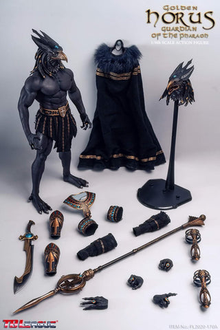 TBLeague PL2020-170A 1/6 Scale King and Vengeful God Horus Gold Edition