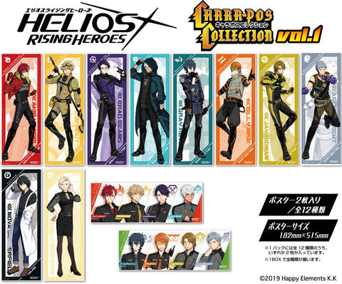 Helios Rising Heroes Charactor Poster Collection Vol. 1