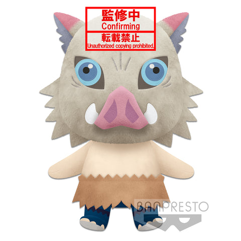 [INCOMING STOCK] Banpresto SUPER BIG PLUSH Inosuke Hashibira - Demon Slayer: Kimetsu no Yaiba