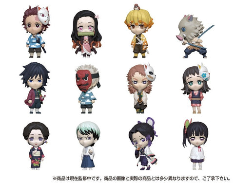 Takara Tomy Anichara Heroes Demon Slayer: Kimetsu no Yaiba Vol. 1 (Set of 12)