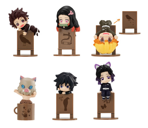 Megahouse OCHATOMO Series Demon Slayer: Kimetsu no Yaiba (SET of 6) + GASHAPON