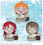 SEGA Love Live! Sunshine!! Attaching Plush Second Grader (Set of 3)