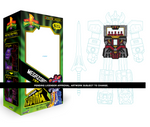 SUPER7 MEGAZORD SUPERCYBORG (CLEAR) - POWER RANGERS