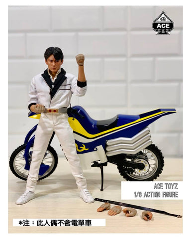 "Ace Toyz The Classic Mighty Super Hero CMSH – 010 : ""Mr. KURATA"" (Motorbike not included)"
