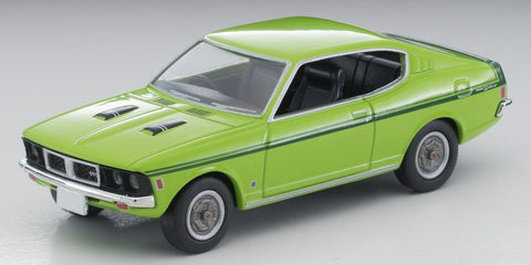 TOMYTEC 1/64 Scale LV-N204d Colt Galant GTO MR Yellow Green