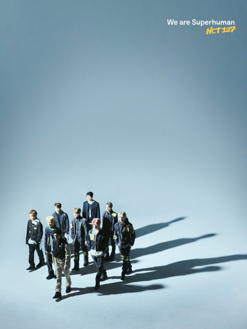 [PRE-ORDER] NCT 127 4th Mini Album - WE ARE SUPERHUMAN