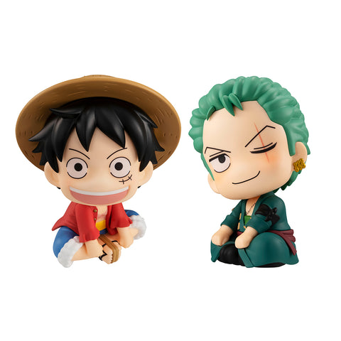 Megahouse LOOKUP Luffy & Zoro SET with gift + TRADING - ONE PIECE
