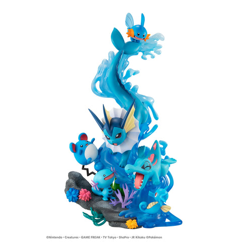Megahouse G.E.M.EX POKEMON Water Type/DIVE TO BLUE with gift + TRADING
