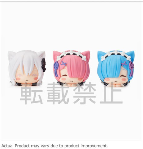 SEGA Ohiruneko Mini Figure Vol. 1 (Set of 3) - Re:ZERO Starting Life in Another World