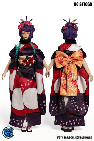 Super Duck SET060 1/6 Scale Katsushika Hokusai Accessory Pack
