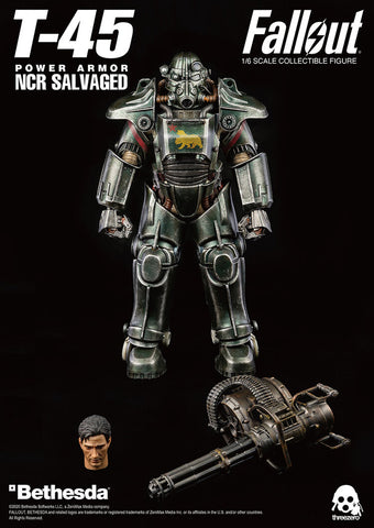 THREEZERO Fallout 1/6 Scale T-45 NCR Salvaged Power Armor
