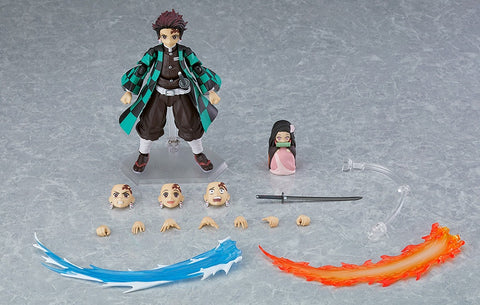 [INCOMING STOCK] figma 498-DX Tanjiro Kamado DX Edition - Demon Slayer: Kimetsu no Yaiba