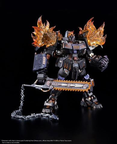 Flame Toys [Kuro Kara Kuri] The Fallen EX Version with Bonus Weapons - Transformers