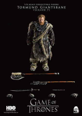 Threezero 1/6 Scale Tormund Giantsbane - Game of Thrones
