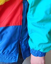 Load image into Gallery viewer, SKI YA LATER VINTAGE PULLOVER COLOURBLOCK SKI JACKET