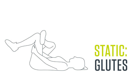 static stretch for glutes