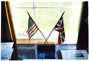 Flags, Cambridge American Cemetery, 1993
