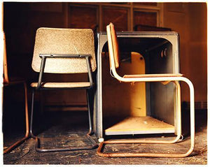 Hut 3 - Chairs, Bletchley Park, 2003